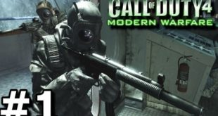 call of duty 4 Modern Warfare 1 game download